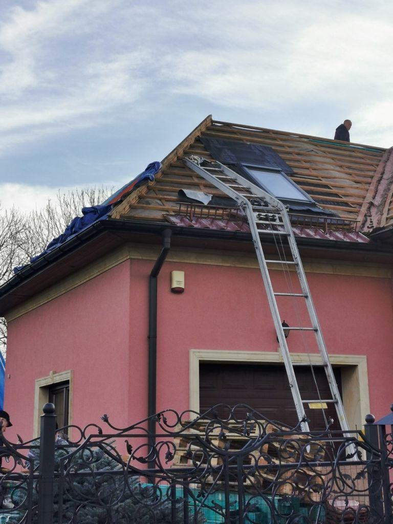 izolacja dachu odgóry chojnów