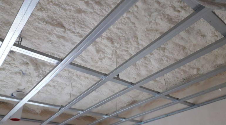 Ocieplenie stropu wMaszewie