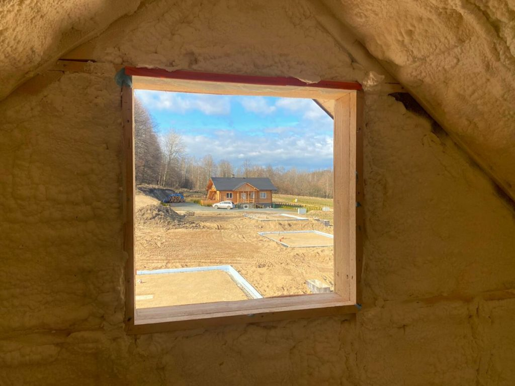 ocieplenie drewnianego domku