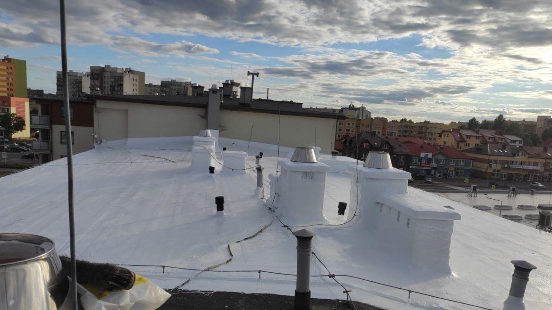 Izolacja dachu płaskiego wLubinie