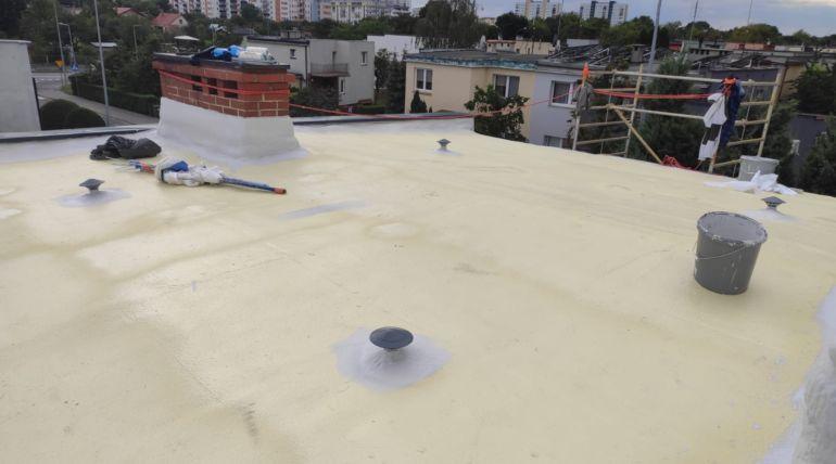 Hydroizolacja dachu płaskiego pokrytego papą wGłogowie