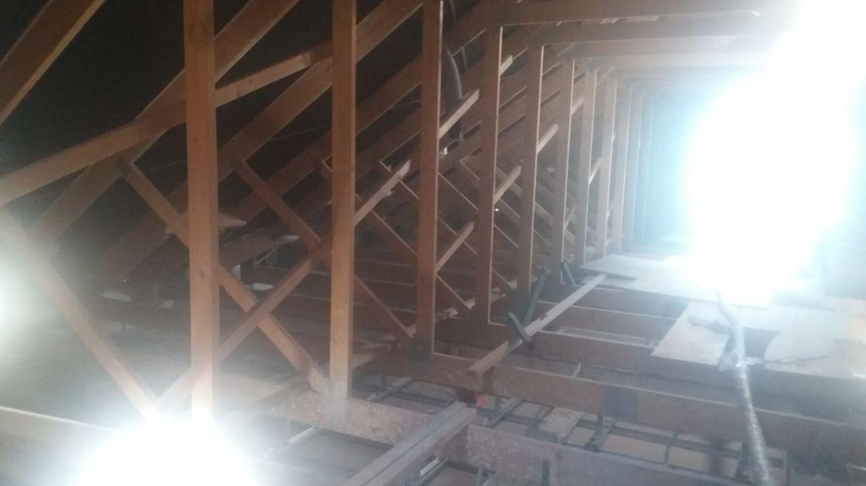 Izolacja drewnianego stropu – Gubinek