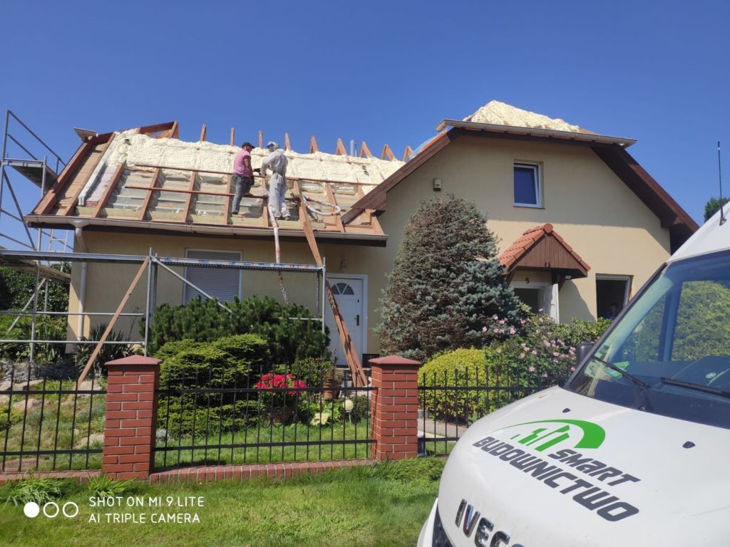 ocieplanie dachu odgóry Bolesławiec