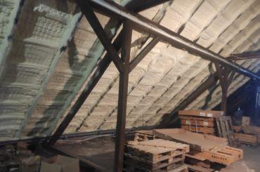 Ocieplenie dużego stropu wUdaninie