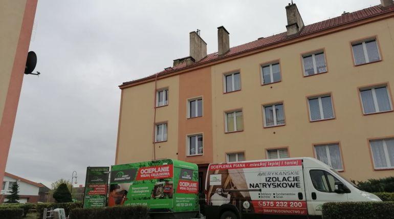 Czyizolacja celulozą torozwiązanie tylkodla domów? – Wrocław