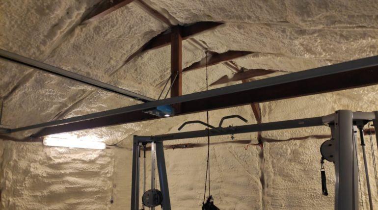 Adaptacja garażu nasiłownię – Żagań