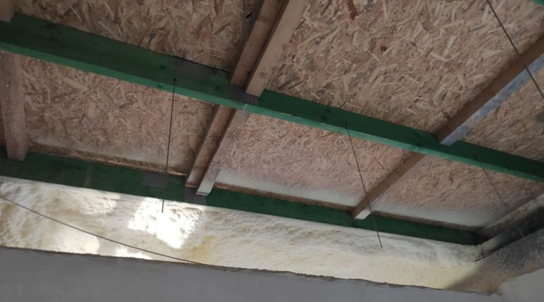Docieplenie stropu – Dobrzeń Wielki
